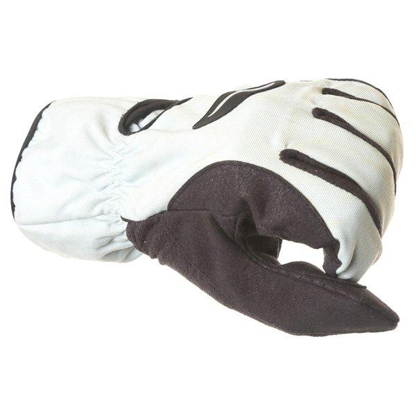 Corner Tex A Grey Black Motorcycle Gloves Knuckle