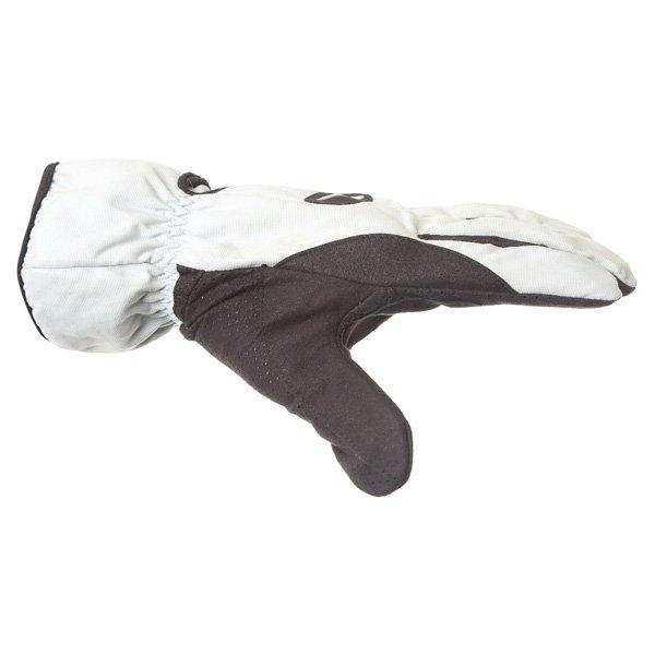 Corner Tex A Grey Black Motorcycle Gloves Thumb side
