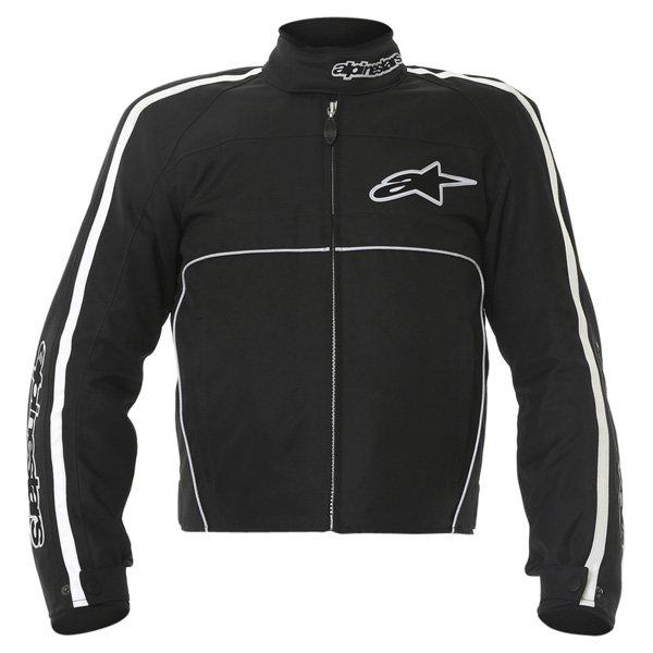 Alpinestars T-Dyno Mens Black Textile Motorcycle Jacket Front