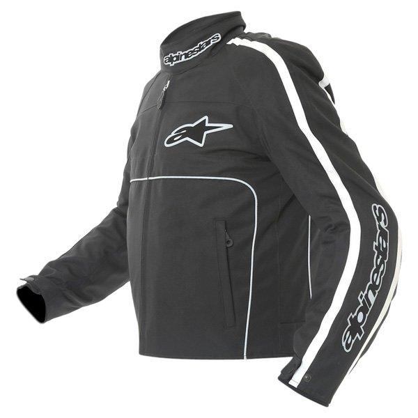 Alpinestars T-Dyno Mens Black Textile Motorcycle Jacket Side