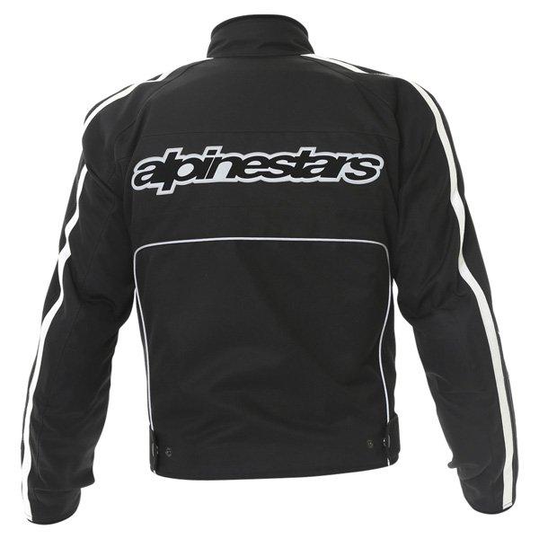 Alpinestars T-Dyno Mens Black Textile Motorcycle Jacket Back