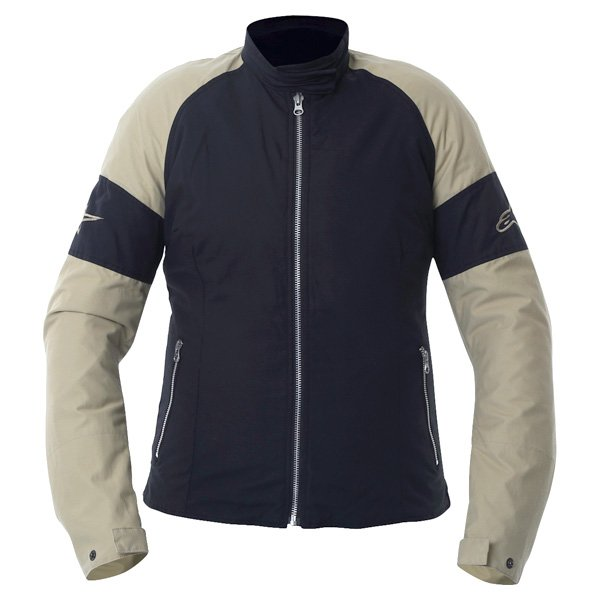Alpinestars Sydney Ladies Black Brown Textile Motorcycle Jacket Front