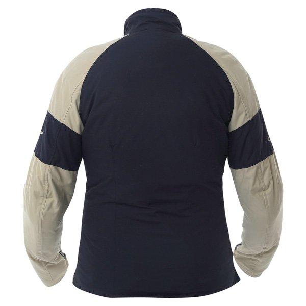 Alpinestars Sydney Ladies Black Brown Textile Motorcycle Jacket Back