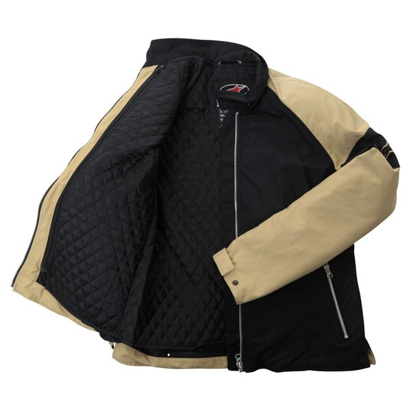Alpinestars Sydney Ladies Black Brown Textile Motorcycle Jacket Inside
