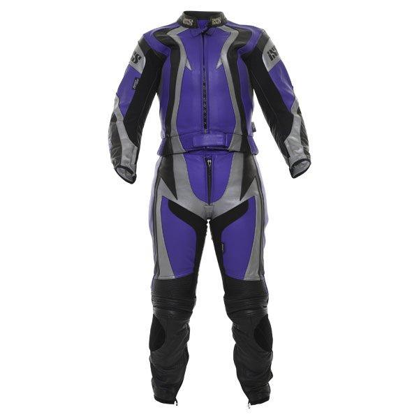Firebird Suit Blue Black Leather Suits