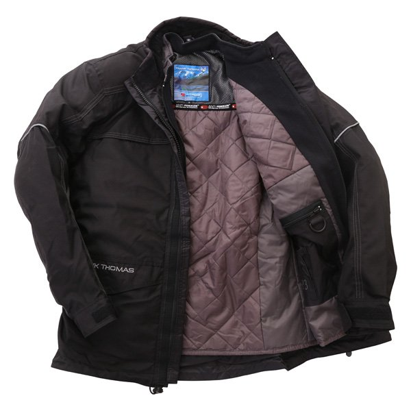 Frank Thomas FTW228 Aqua Jet Waterproof Black Motorcycle Jacket Inside