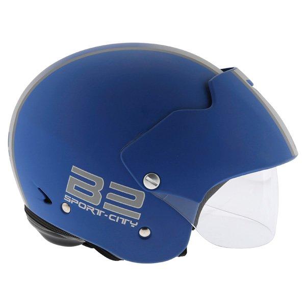 AGV Bali B2 Trendy Blue Silver Helmet Right Side
