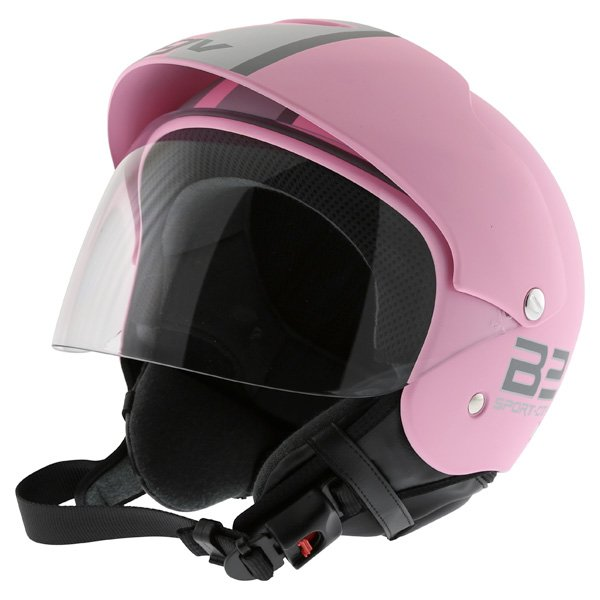 AGV Bali B2 Trendy Pink Silver Helmet Front Left