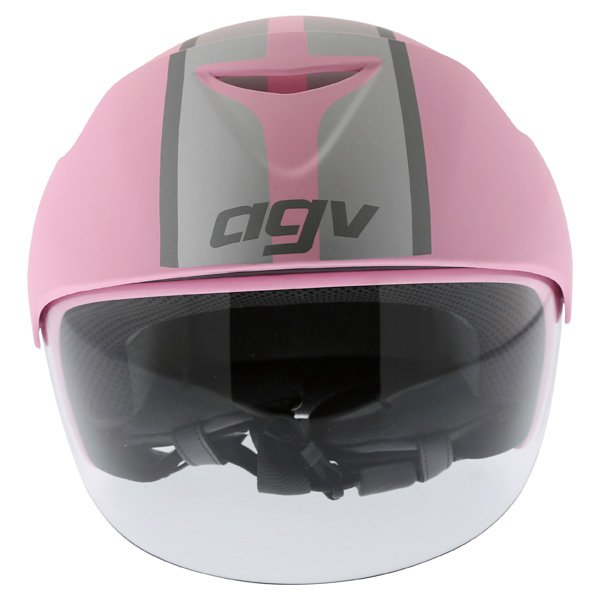 AGV Bali B2 Trendy Pink Silver Helmet Front