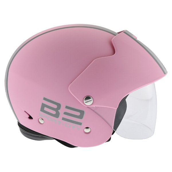 AGV Bali B2 Trendy Pink Silver Helmet Right Side