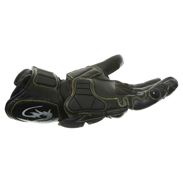 Arlen Ness G-7205 Black Motorcycle Gloves Little finger side