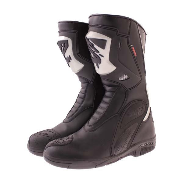Arlen Ness BOT1068 Black Waterproof Motorcycle Boots Pair