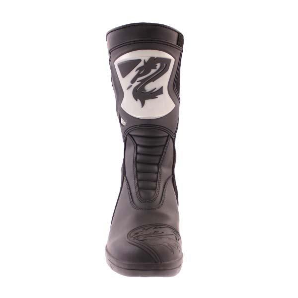 Arlen Ness BOT1068 Black Waterproof Motorcycle Boots Front