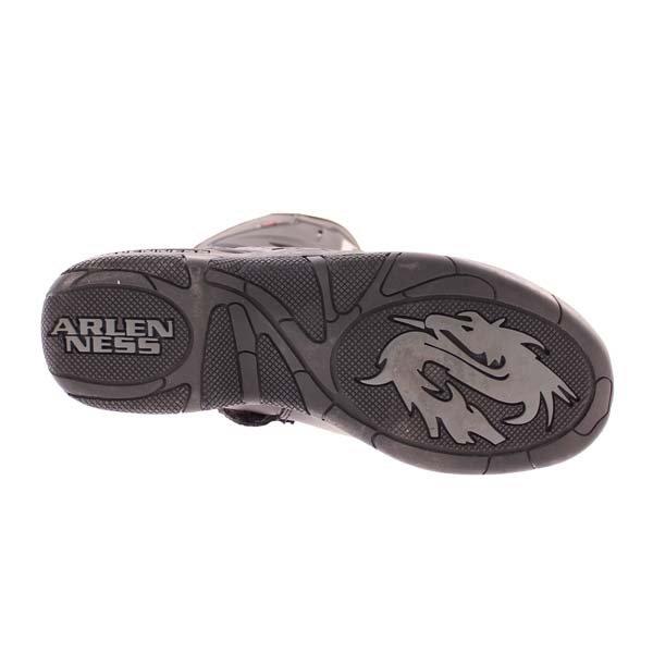 Arlen Ness BOT1068 Black Waterproof Motorcycle Boots Sole