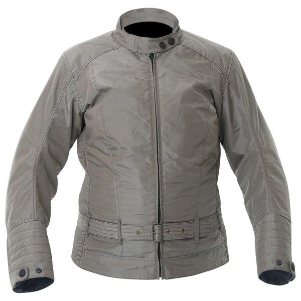 BKS BKW005 Warwick Ladies Taupe Waterproof Textile Motorcycle Jacket Front