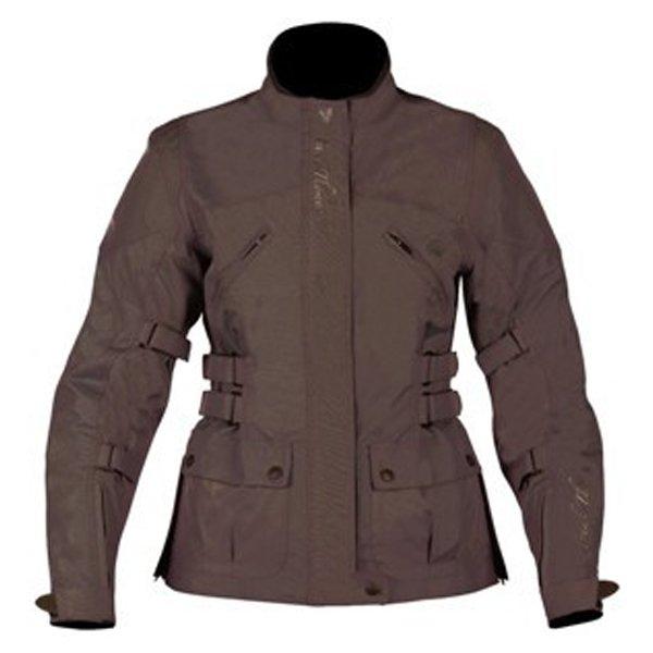 Frank Thomas FTW304 Zarina Ladies Bronze Waterproof Textile Motorcycle Jacket Front