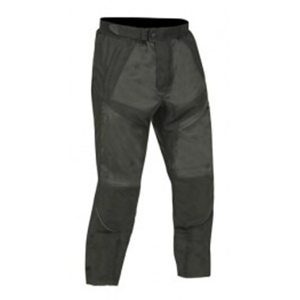 Frank Thomas FTW324 Stealth Mens Black Textile Motorcycle Trousers Front