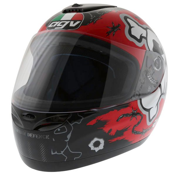 AGV K Series Urban Defender Full Face Motorcycle Helmet Front Left