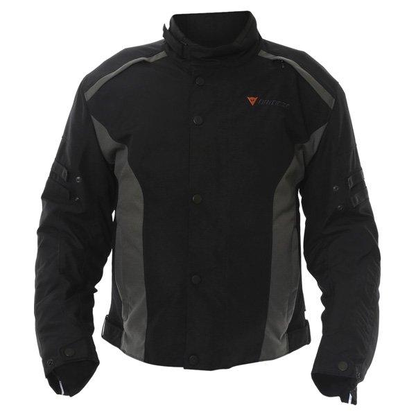 Dainese Xantum D-Dry Mens Black Waterproof Textile Motorcycle Jacket Front