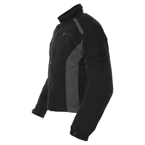 Dainese Xantum D-Dry Mens Black Waterproof Textile Motorcycle Jacket Side