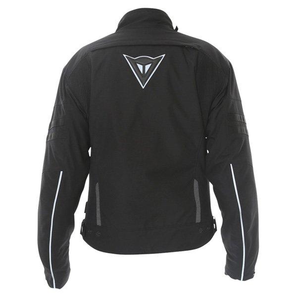 Dainese Xantum D-Dry Mens Black Waterproof Textile Motorcycle Jacket Back