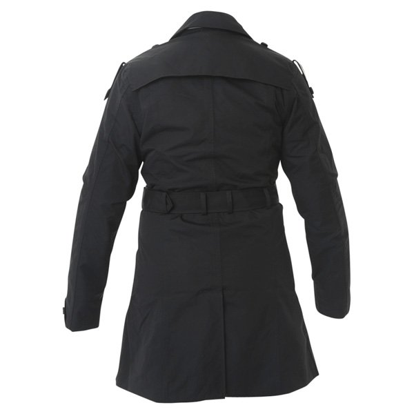 Armadillo Ladies Black Motorcycle Mac Back