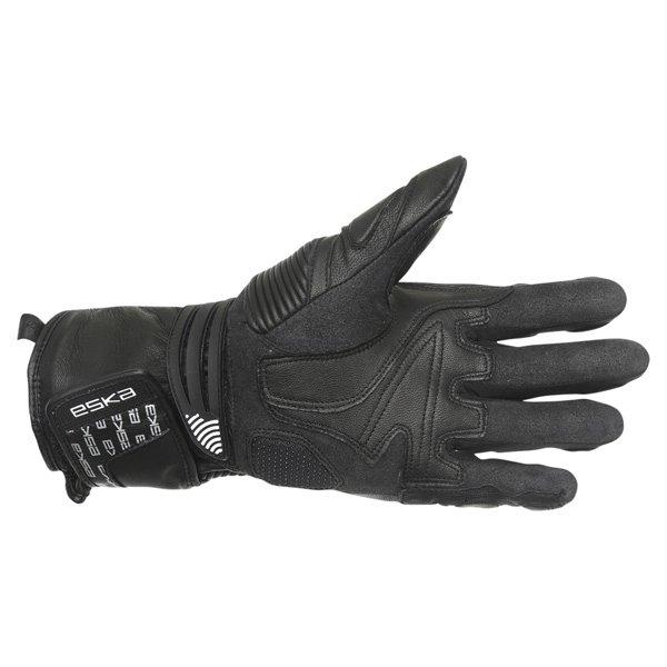 Eska Pro Carbone 1255 Black Motorcycle Gloves Palm
