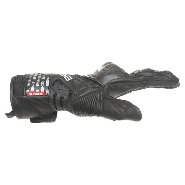 Eska Pro Carbone 1255 Black Motorcycle Gloves Thumb side