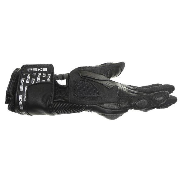 Eska Pro Carbone 1255 Black Motorcycle Gloves Little finger side