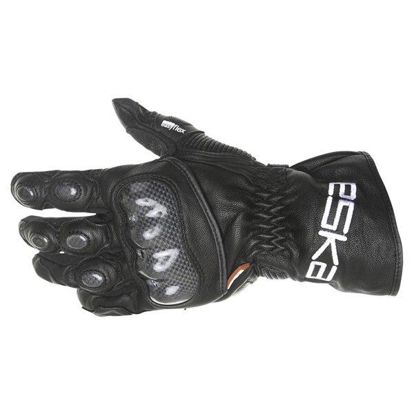 Eska Spider 1256 Black Motorcycle Gloves Back