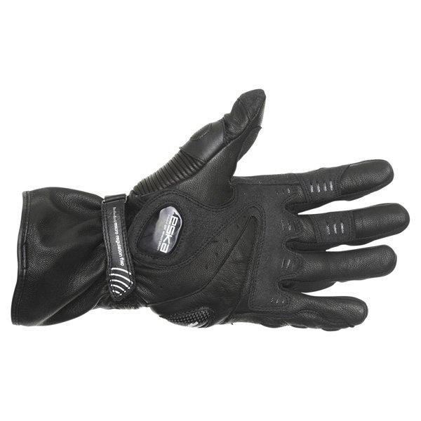 Eska Spider 1256 Black Motorcycle Gloves Palm