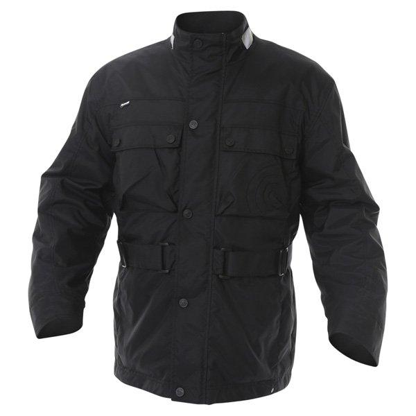 696 CTY001 Copenhagen Mens Black Textile Motorcycle Jacket Front