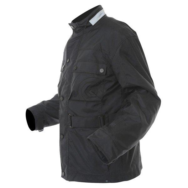 696 CTY001 Copenhagen Mens Black Textile Motorcycle Jacket Side