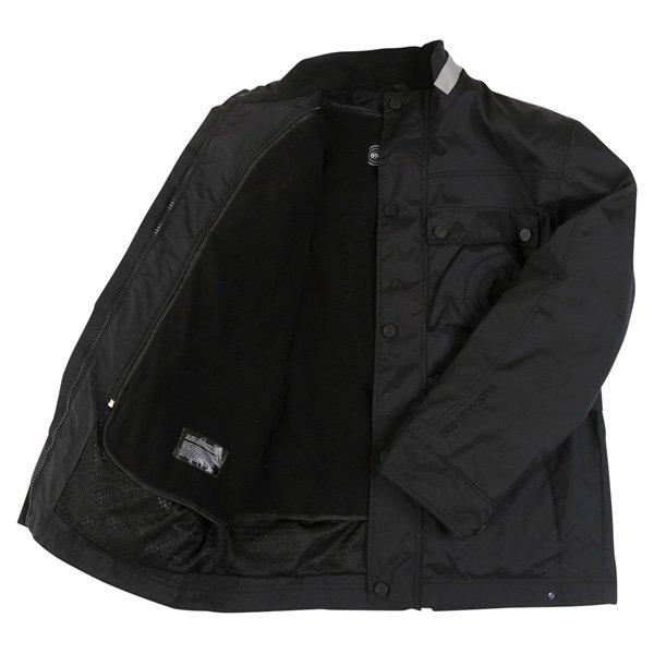696 CTY001 Copenhagen Mens Black Textile Motorcycle Jacket Inside