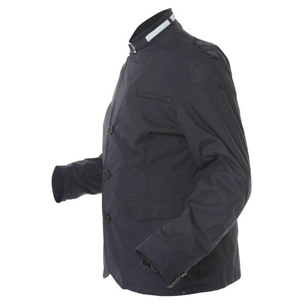 696 CTY002 Luca Mens Navy Waterproof Textile Motorcycle Jacket Side