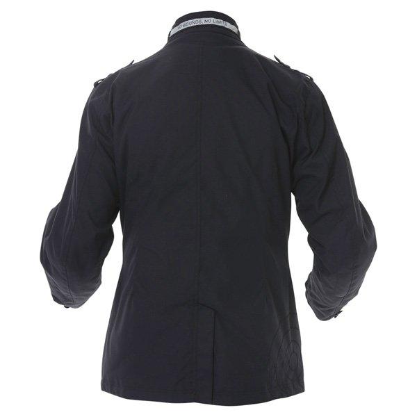 696 CTY002 Luca Mens Navy Waterproof Textile Motorcycle Jacket Back