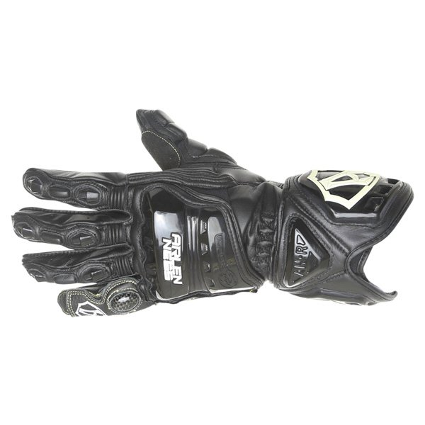 Arlen Ness G-9149-AN Black Motorcycle Gloves Back