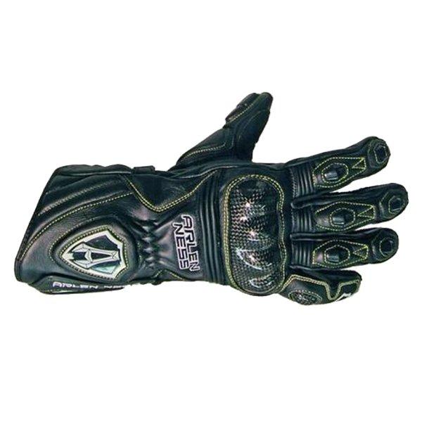 Arlen Ness G-9150-An Black Gloves Back