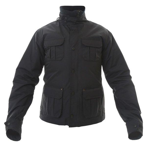 Armadillo Military Ladies Black Textile Motorcycle Jacket Front