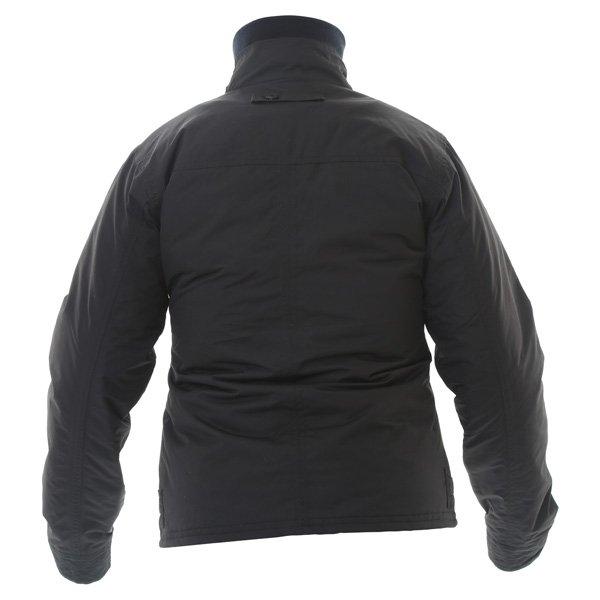 Armadillo Military Ladies Black Textile Motorcycle Jacket Back