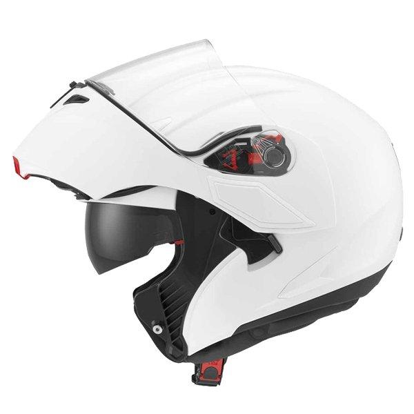 AGV Numo White Helmet Flip Open