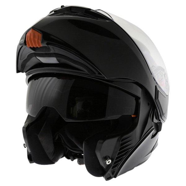 AGV Numo Black Helmet Flip Open