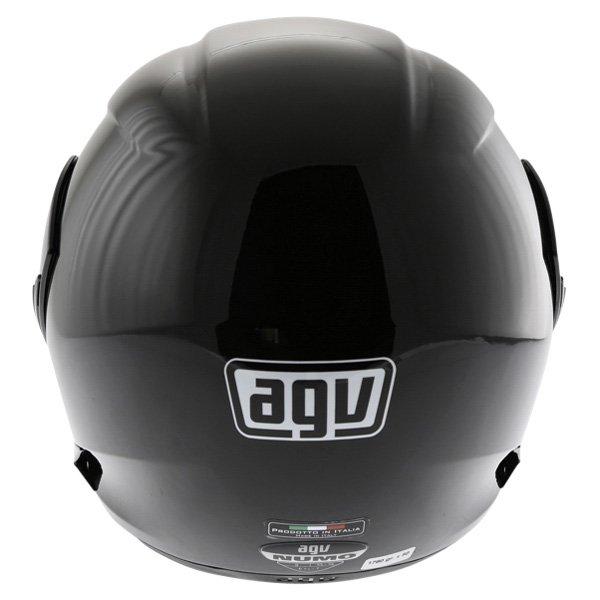 AGV Numo Black Helmet Back