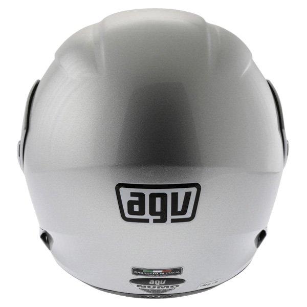 AGV Numo Silver Helmet Back