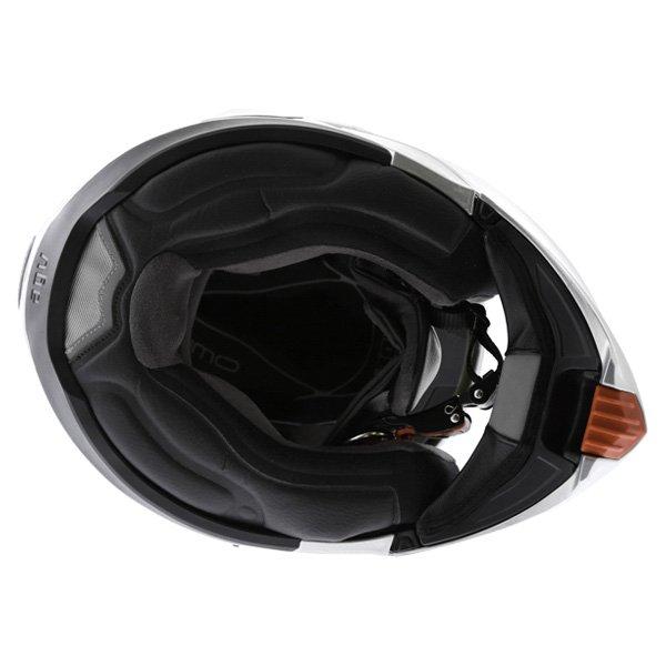 AGV Numo Silver Helmet Inside