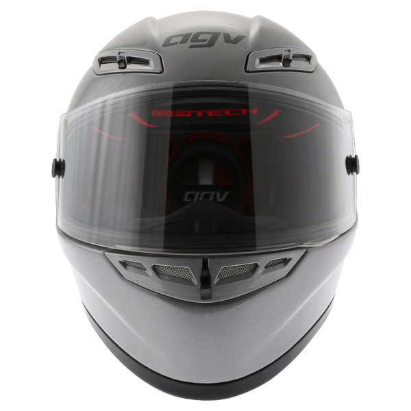 AGV GP Tech Gun Grey Helmet Front