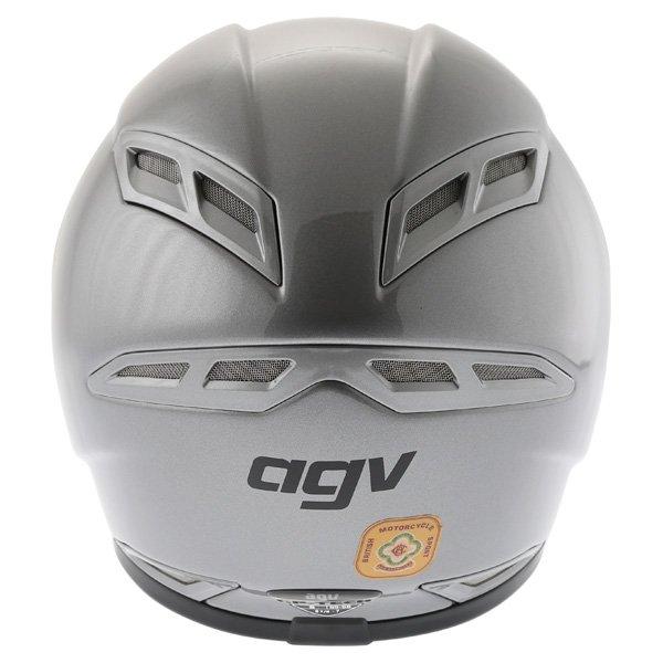 AGV GP Tech Gun Grey Helmet Back