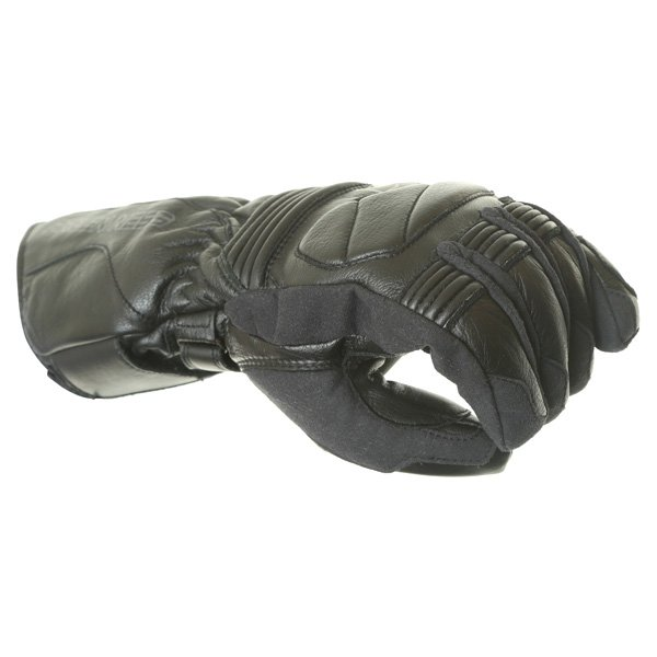Arlen Ness G-8651 Black Motorcycle Gloves Knuckle