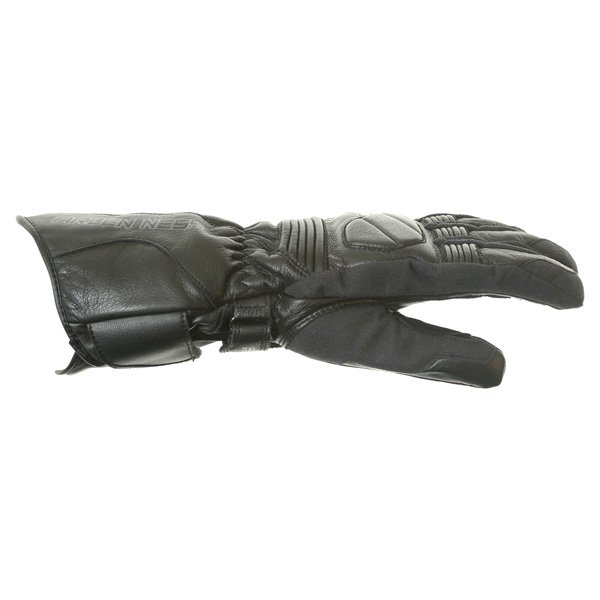 Arlen Ness G-8651 Black Motorcycle Gloves Thumb side