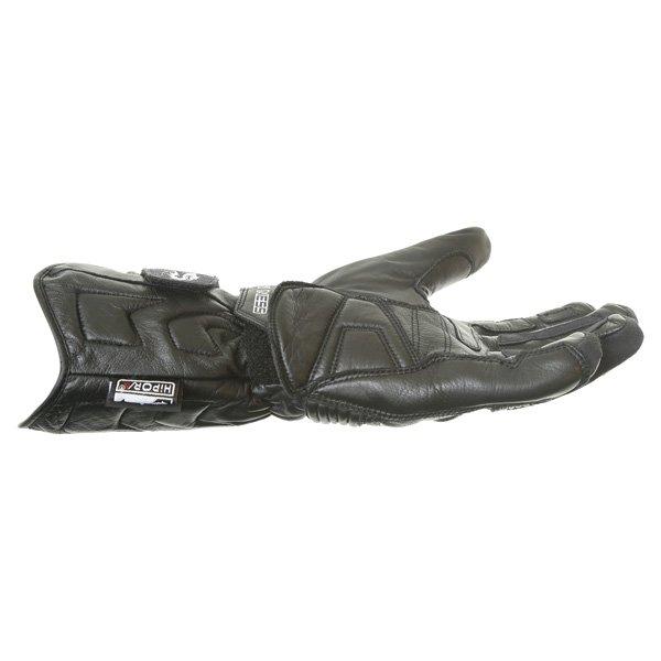 Arlen Ness G-8651 Black Motorcycle Gloves Little finger side